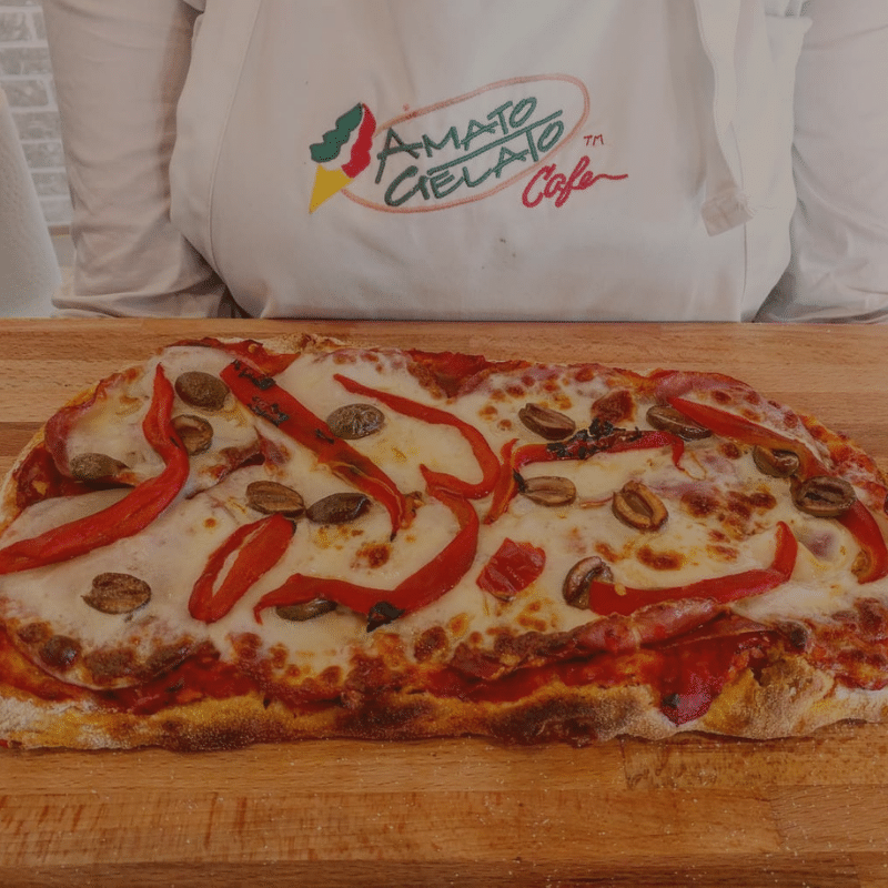 Paninis & Roman Style Pizza