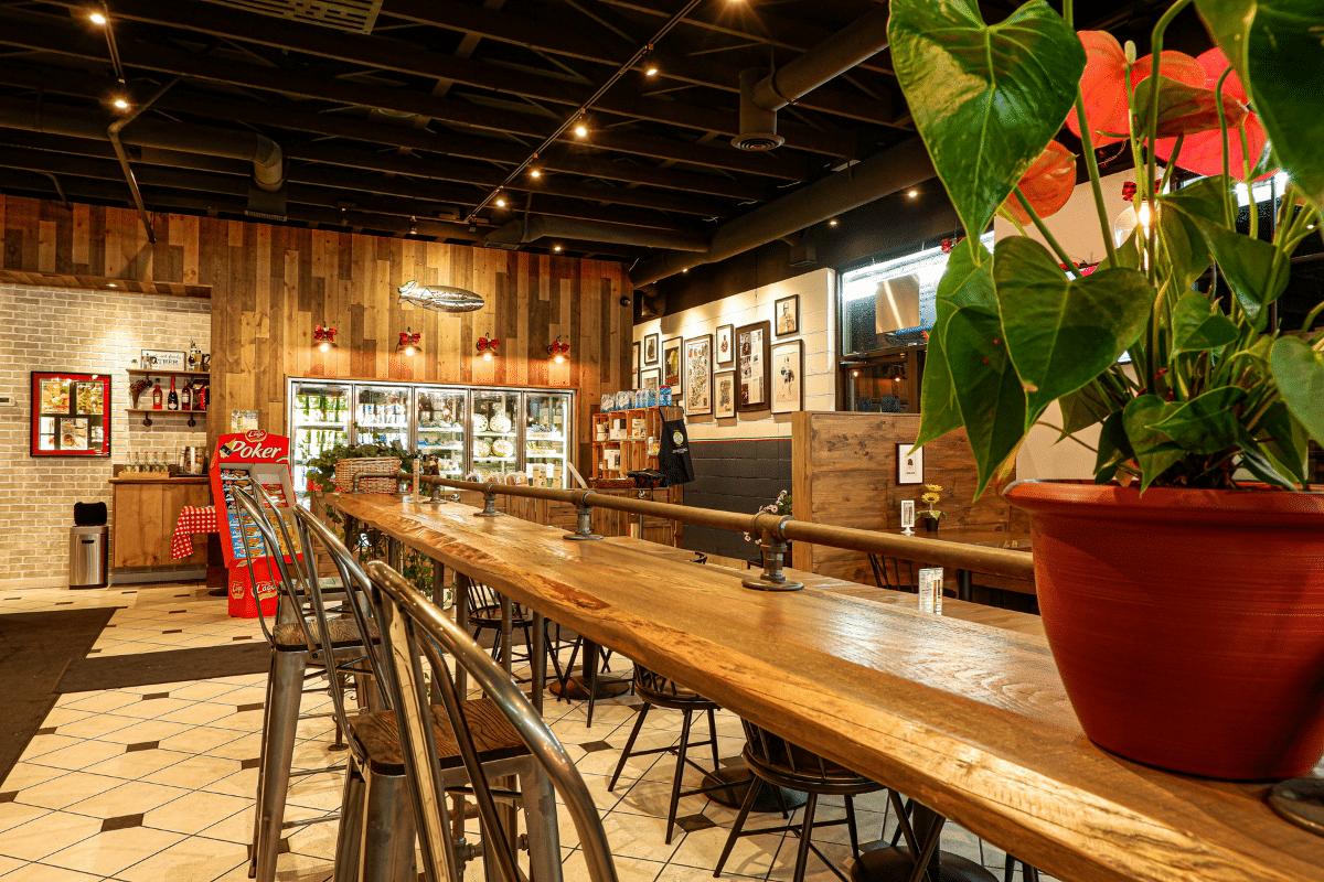 Italian Cafe in Calgary